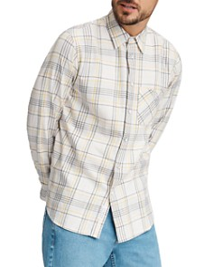 rag & bone - Fit 3 Beach Plaid Flannel Regular Fit Shirt