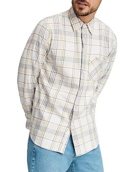 rag & bone - Fit 3 Beach Plaid Flannel Regular Fit Shirt
