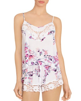In Bloom by Jonquil - Floral Printed Cami Short PJ Set