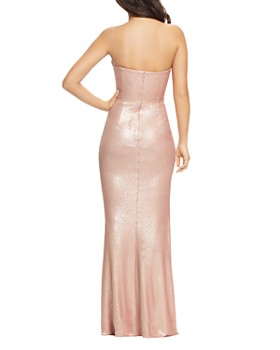 Dress the Population - Ellen Sequined Strapless Gown