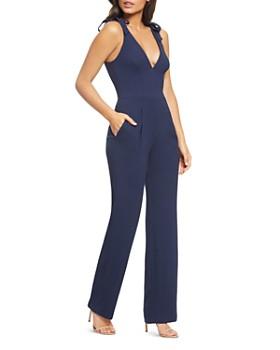Dress the Population - Maira Tie-Detail Jumpsuit