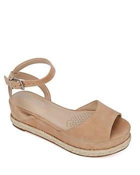 Kenneth Cole - Women's Lorelei Ankle Strap Platform Sandals