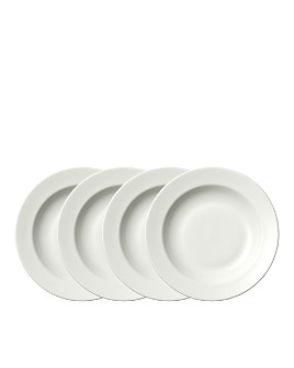 "Wedgwood - Perfect White Rim Soup 9"", Set of 4"
