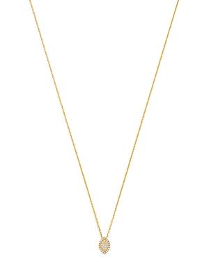 Madhuri Parson 14K Yellow Gold Diamond Essentials Evil Eye Pendant Necklace, 18