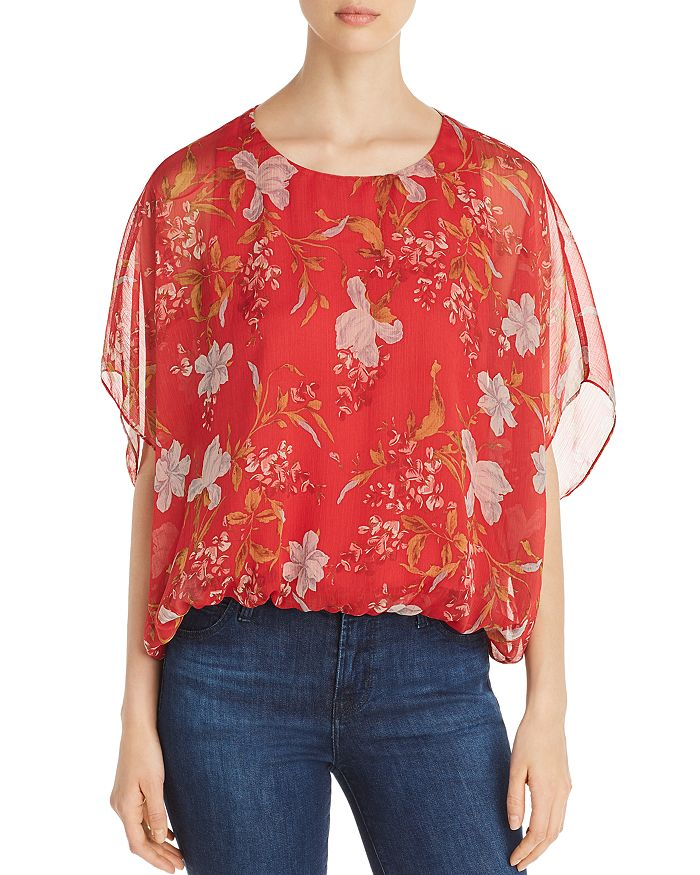 VINCE CAMUTO - Wildflower Blouson Top - 100% Exclusive