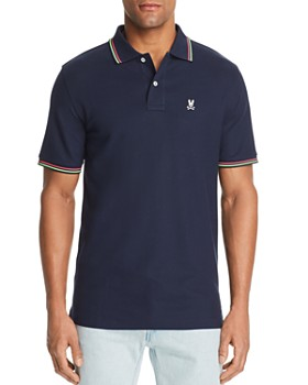 Psycho Bunny - Stripe-Accented Classic Fit Polo Shirt