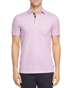 Ted Baker - Kiosk Geo Print Regular Fit Polo Shirt - 100% Exclusive