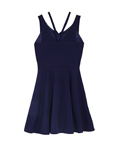 Sally Miller - Girls' The Double-Strap Fit-and-Flare Dress, Big Kid - 100% Exclusive