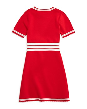Armani - Girls' Racer-Stripe Sweater Dress - Little Kid, Big Kid