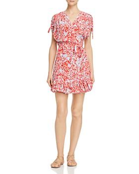 Paloma Blue - Delilah Mini Wrap Dress