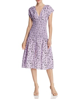 Keepsake - Secure Floral Midi Dress