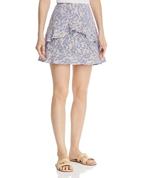 The Fifth Label - Tour Floral Mini Skirt
