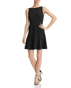 AQUA - Sleeveless Faux-Suede Dress - 100% Exclusive