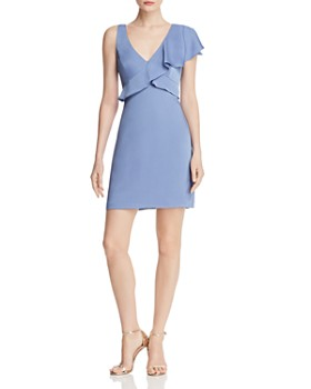 be9ae27555 BCBGMAXAZRIA - Ruffled Cocktail Dress - 100% Exclusive ...