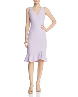 Betsey Johnson - Flounced-Hem Dress