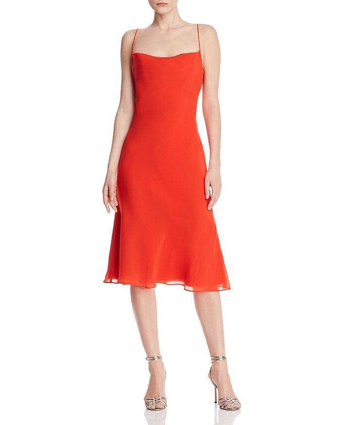 Finders Keepers NOSTALGIA BACK-CUTOUT DRESS