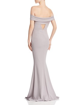 Katie May - Legacy Off-the-Shoulder Gown