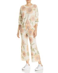 LNA - Brushed Sunflower Print Sweatpants