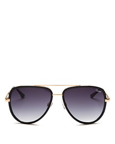 Quay - Women's QUAY x JLO All In Aviator Sunglasses, 56mm