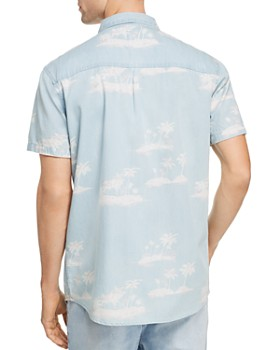 Zee Gee Why Denim - Zee Denim Party Short-Sleeve Regular Fit Shirt
