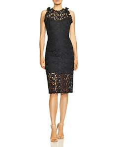 HALSTON HERITAGE - Lace Dress
