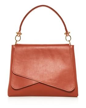 Callista - Grace Tulipe Medium Leather Shoulder Bag