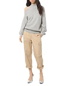 MICHAEL Michael Kors - Asymmetric Cold-Shoulder Sweater