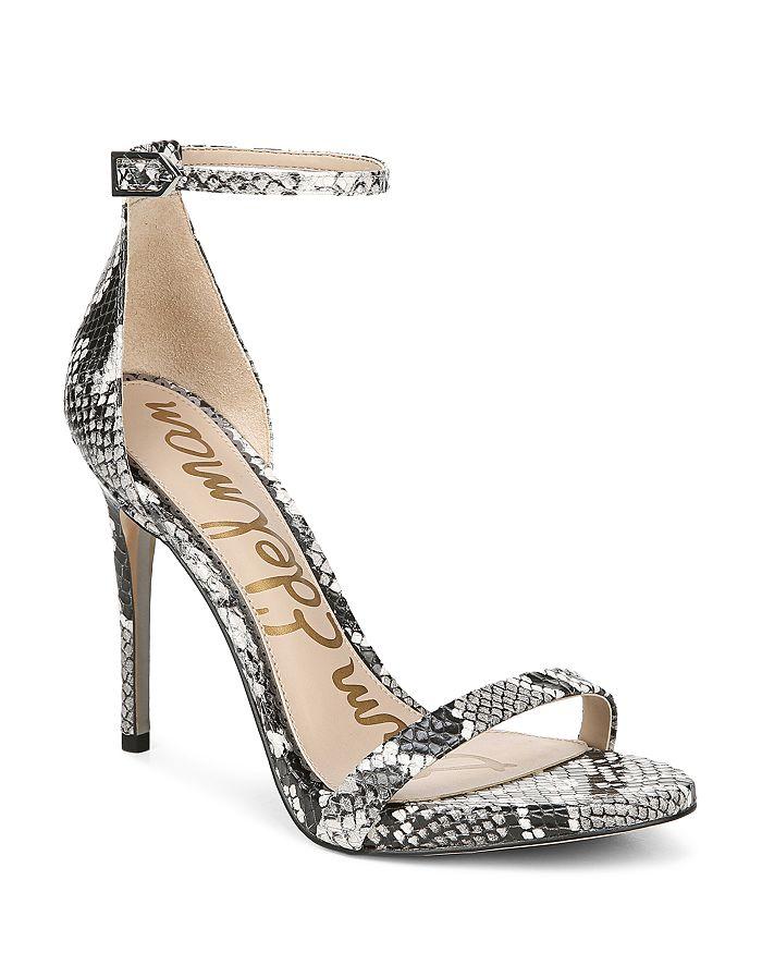 9ba6a829b Sam Edelman Women s Ariella High-Heel Ankle Strap Sandals ...