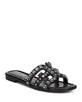Sam Edelman - Women's Bay 8 Embellished Slide Sandals