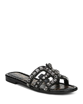 9d48716f5 Sam Edelman - Women s Bay 8 Embellished Slide Sandals ...