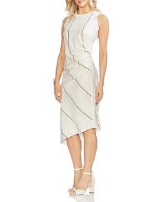 VINCE CAMUTO - Sleeveless Striped Dress