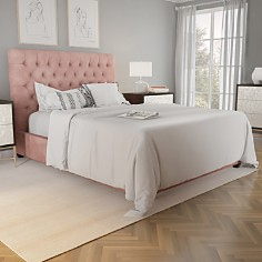 Bloomingdale's Artisan Collection - Spencer Tufted Upholstery Queen Bed