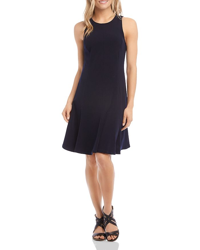 Karen Kane - Sleeveless Seamed Dress