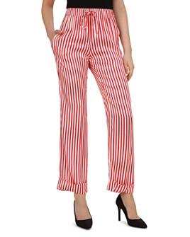 The Kooples - Voile Rouge Striped Drawstring Pants