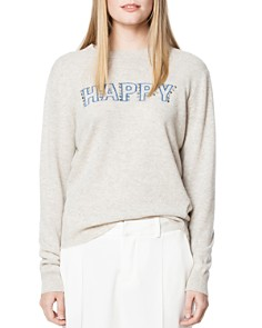 Zadig & Voltaire - Happy Embellished Cashmere Sweater
