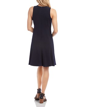 Karen Kane - Sleeveless Seamed Dress