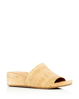 Gentle Souls by Kenneth Cole - Women's Gisele Wedge Slide Sandals