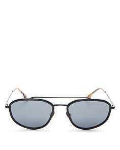 Burberry - Men's Brow Bar Square Sunglasses, 56mm