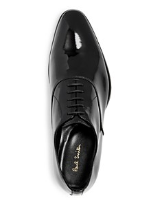 Paul Smith - Men's Lord Patent Leather Plain-Toe Oxfords