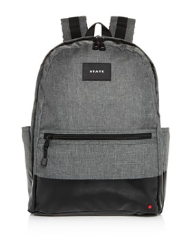 STATE - Bedford Heathered Dip Backpack