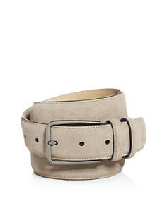 The Men's Store at Bloomingdale's - Men's Suede Belt - 100% Exclusive