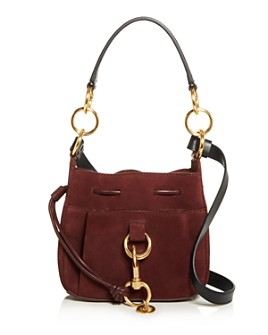 See by Chloé - Tony Small Leather & Suede Shoulder Bag