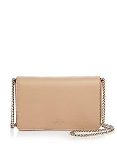 kate spade new york - Medium Chain Wallet Leather Crossbody