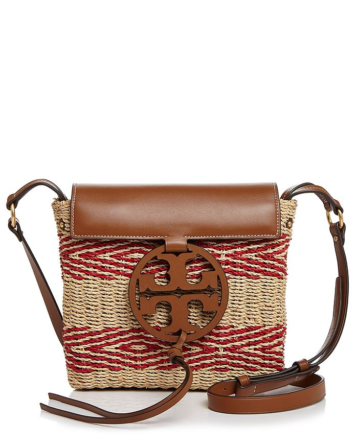 Tory Burch - Miller Striped Straw Crossbody