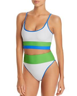 Beach Riot - Eva Ribbed Bikini Top & Highway Ribbed Bikini Bottom - 100% Exclusives