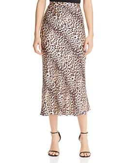 Bec & Bridge - Feline Silk Midi Skirt