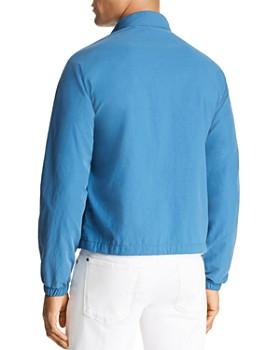 Michael Kors - Stripe-Trimmed Coach's Jacket