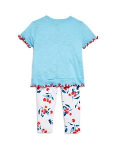 Splendid - Girls' Tee & Cherry Print Leggings Set - Baby