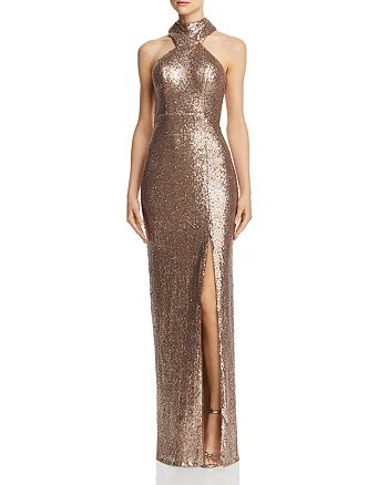 Bariano - Jorja Sequin Gown