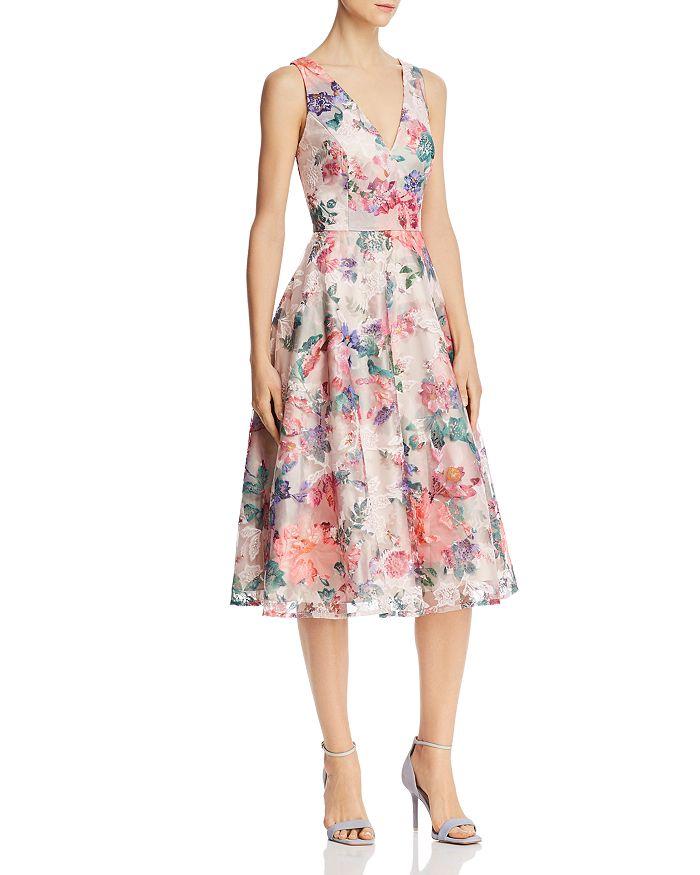 Eliza J - Floral Midi Dress
